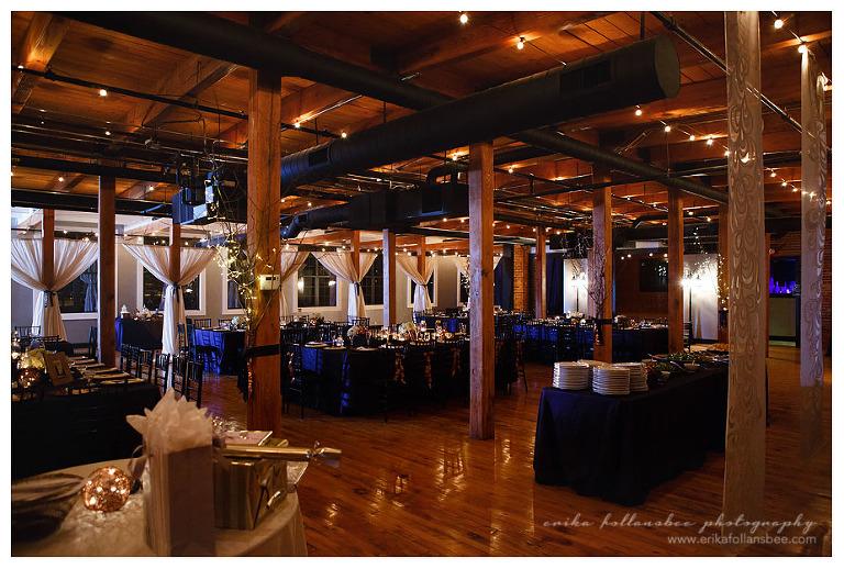 Winter Wedding at La Piece Tilton NH  NH Wedding