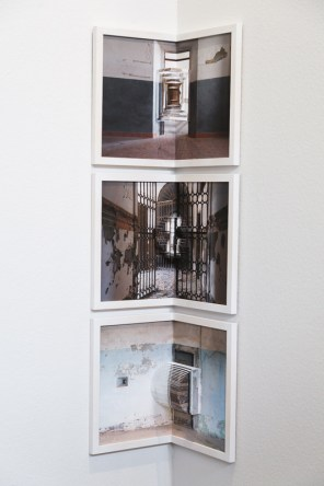 Fotografia Europea, Reggio Emilia, Italy, May 2014: Silivia Compresi's work explores empty and forgotten spaces. Her alternative presentations in the form of 3d photo sculpture and books were the strongest element.