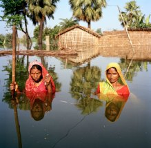 Chinta and Samundri Davi Salempur Village near Muzaffarpur Bihar India August 2007