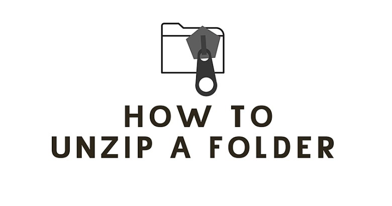 Unzipping a file tutorial