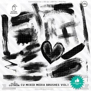 CU Mixed Media Brushes Vol.1