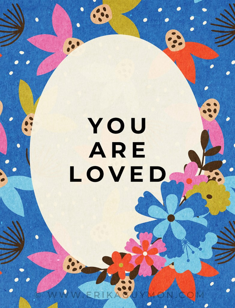 Scrapbooking Journaling Card You Are Loved