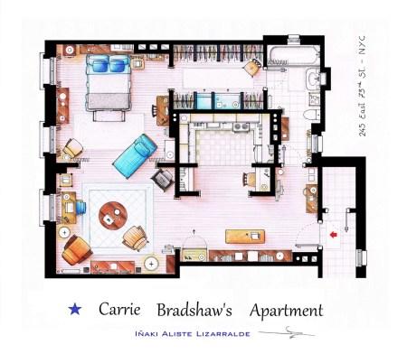 Apartamento da Carrie