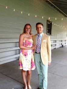 Congrats Ben and Lauren!