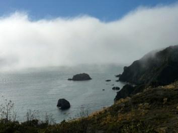 fog on california coast