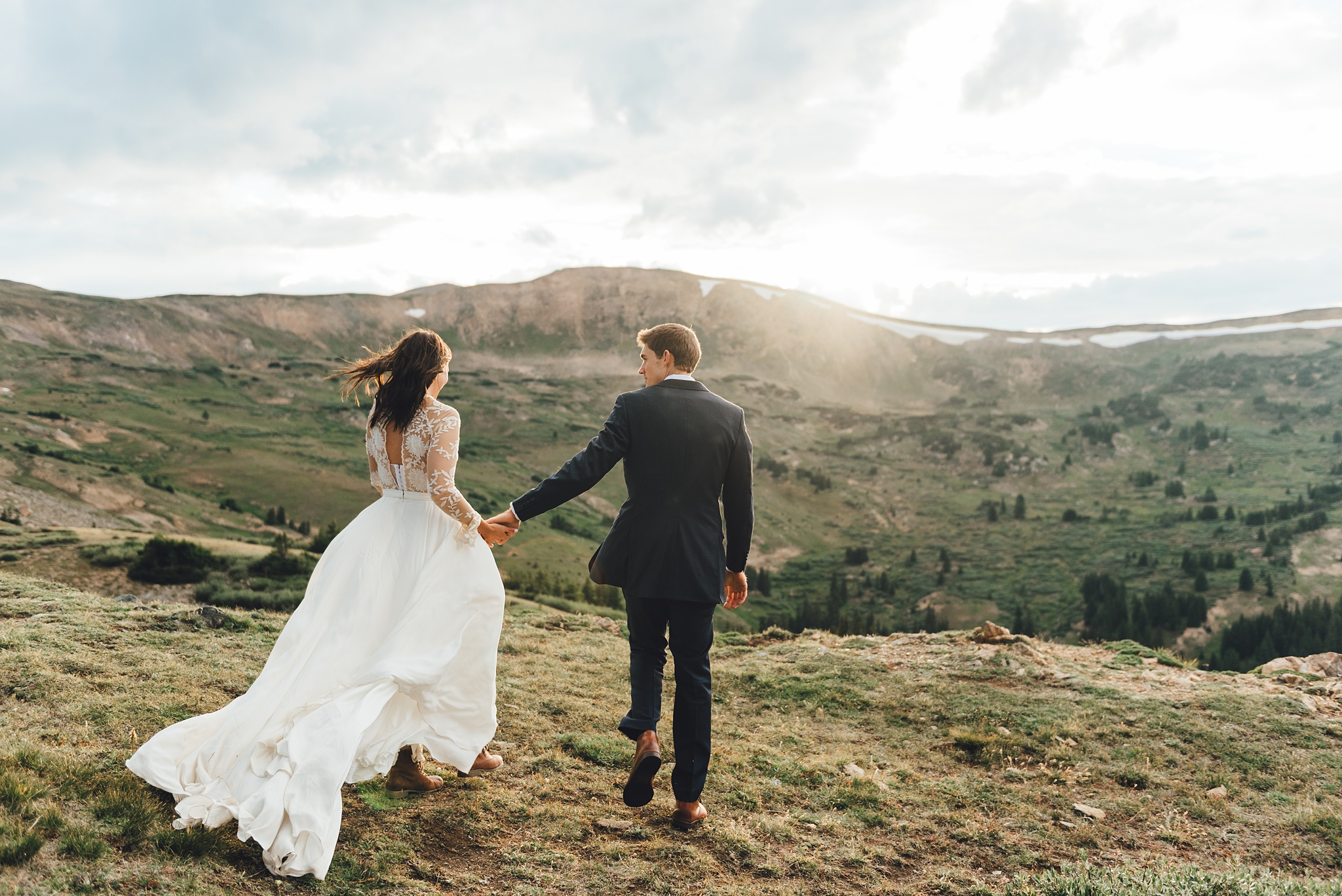 colorado elopement in rocky mountain national park
