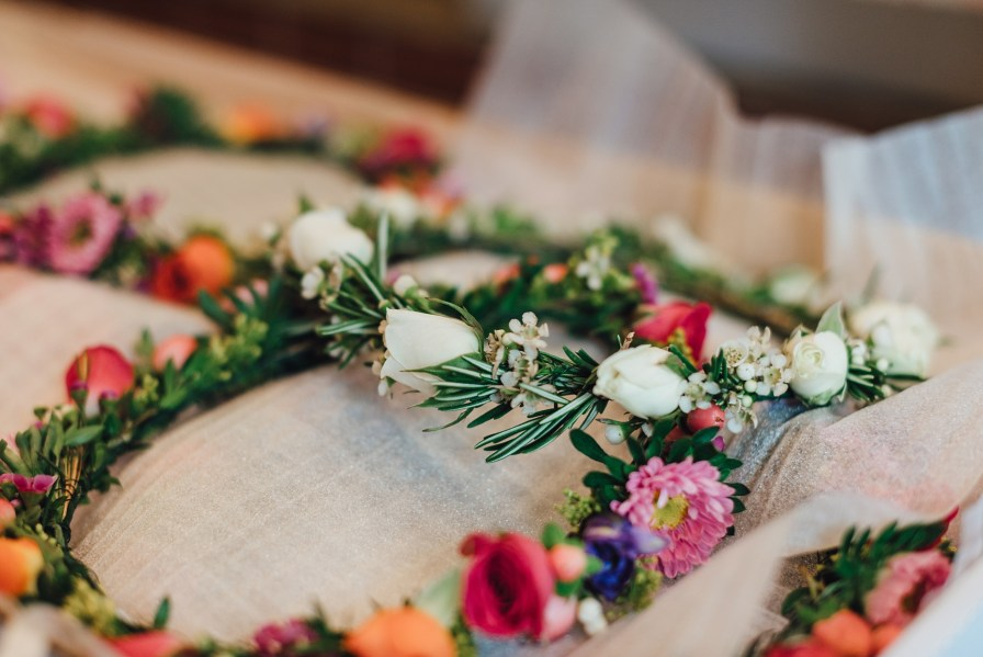 flower crown by design of europe