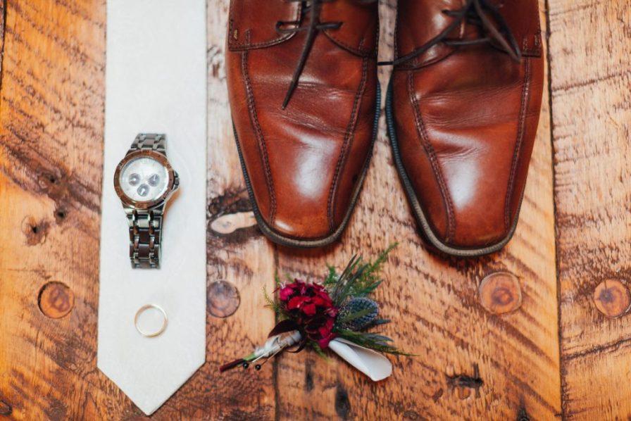 groom's wedding details
