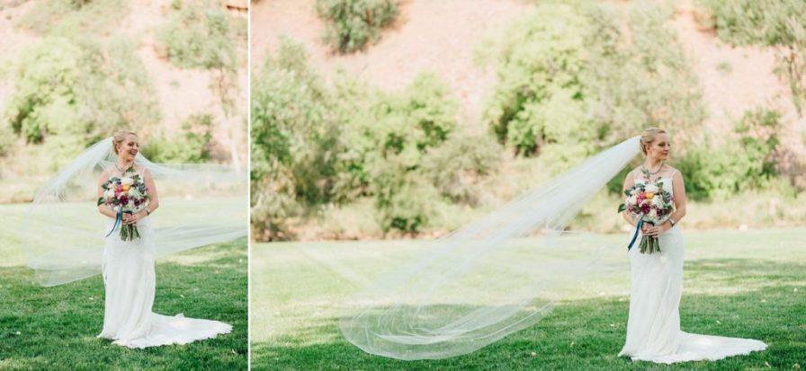 bride portraits