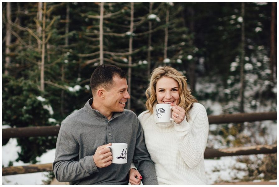 Engagement photo prop ideas