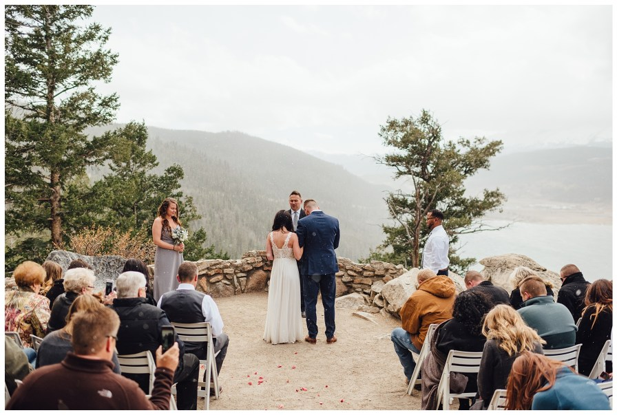 Elopement at Sapphire Point in Colorado