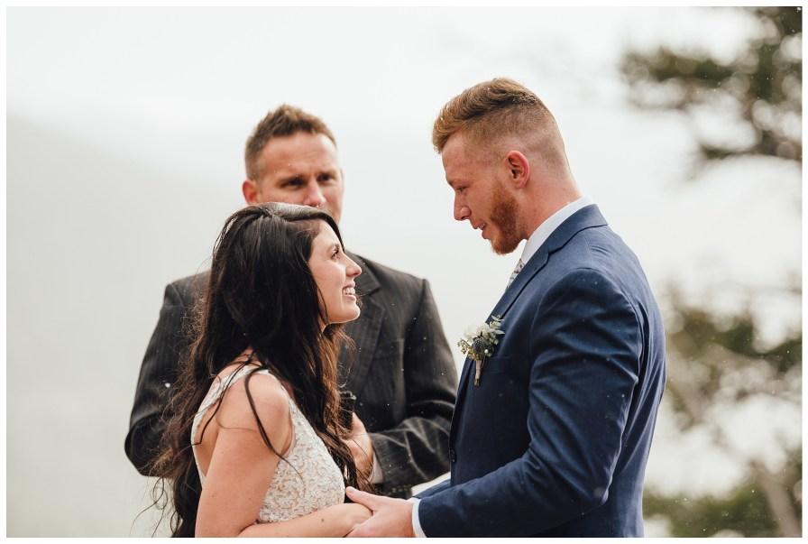 Colorado elopement in October