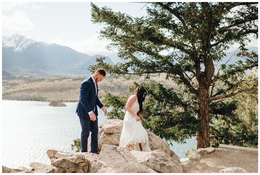 October elopement in Dillon, Colorado