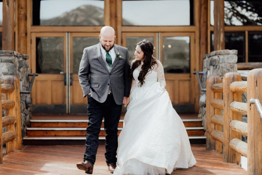 Evergreen Lake House wedding photos