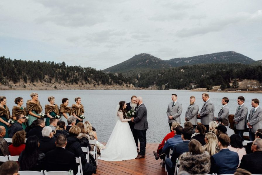 Evergreen Lake House wedding
