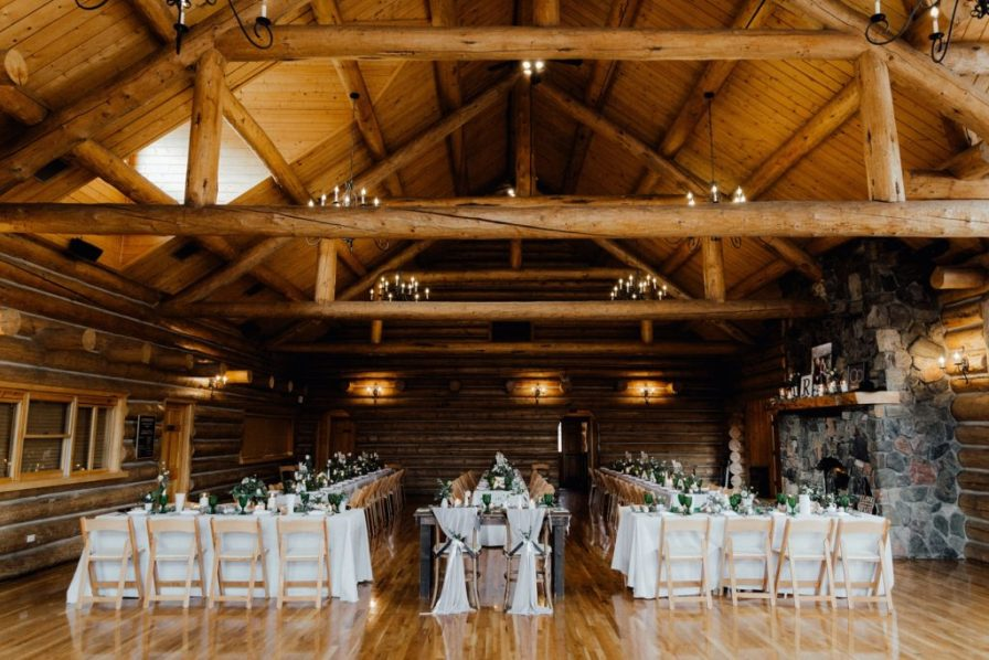 Evergreen Lake House reception