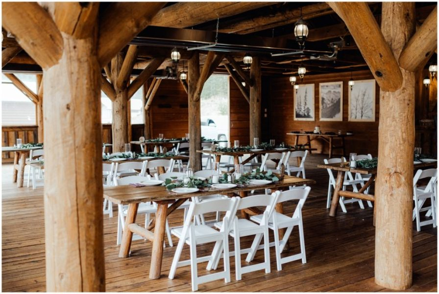 piney river ranch reception decorations