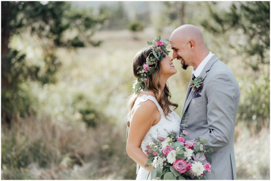 boho inspired wedding in vail, colorado