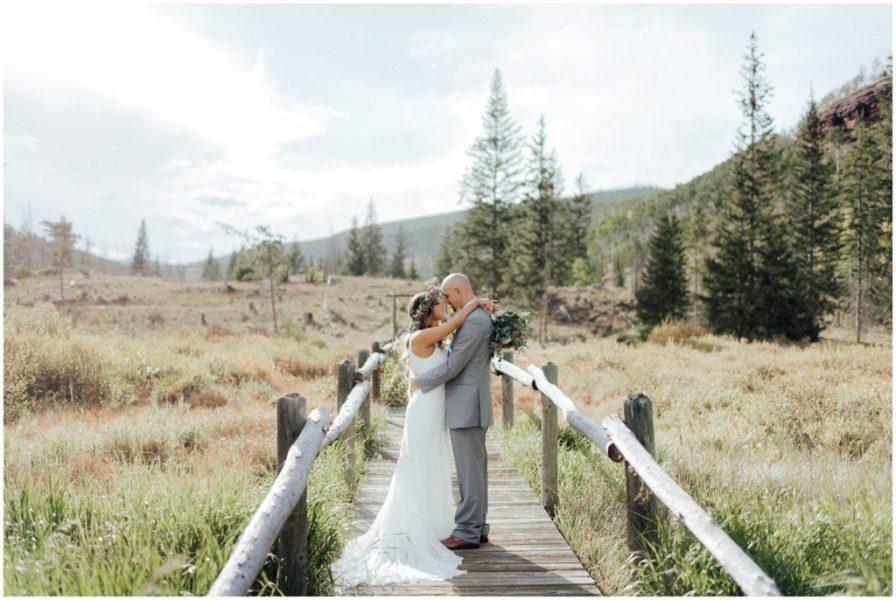 fall wedding at piney river ranch