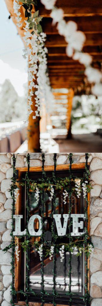 greenery wedding decorations