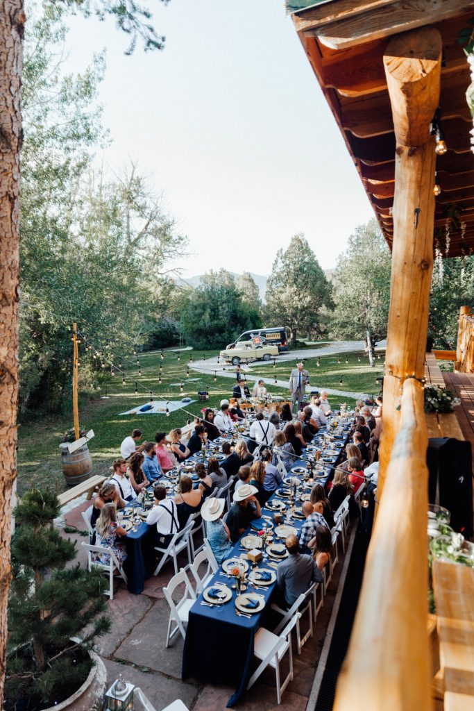 backyard wedding decorations