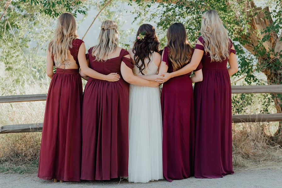 Bridesmaid hair ideas