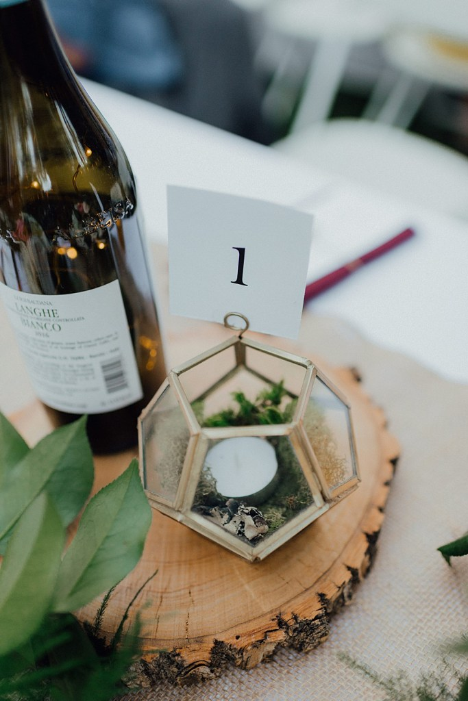 Wedding menu ideas, wedding centerpieces, centerpiece ideas, boho centerpieces, succulent centerpieces, wine bottle wedding decorations, geometric centerpieces