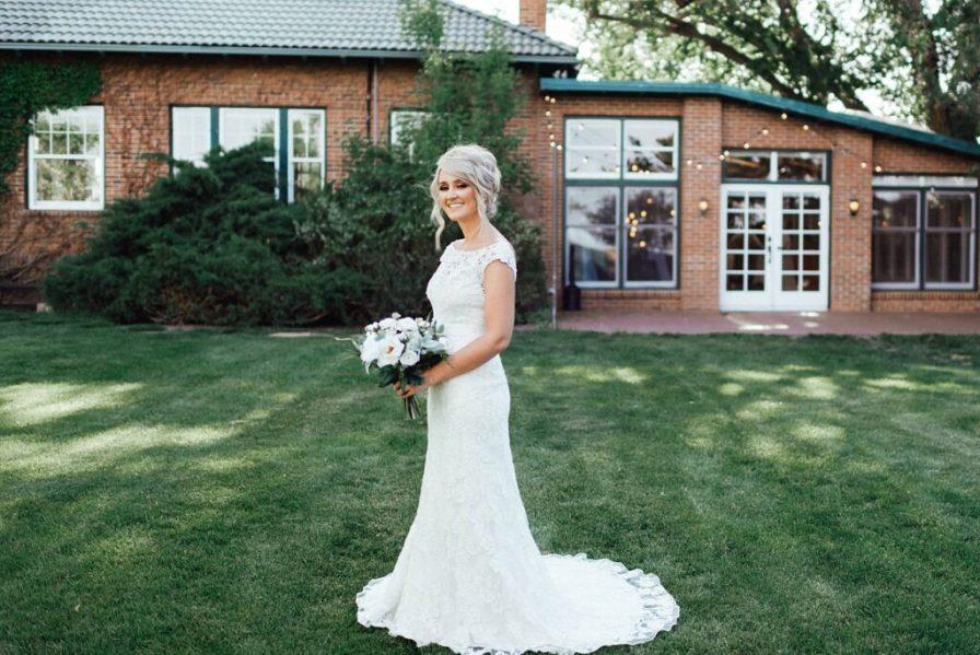 Bridal portraits, wedding dress ideas, high collar wedding dress