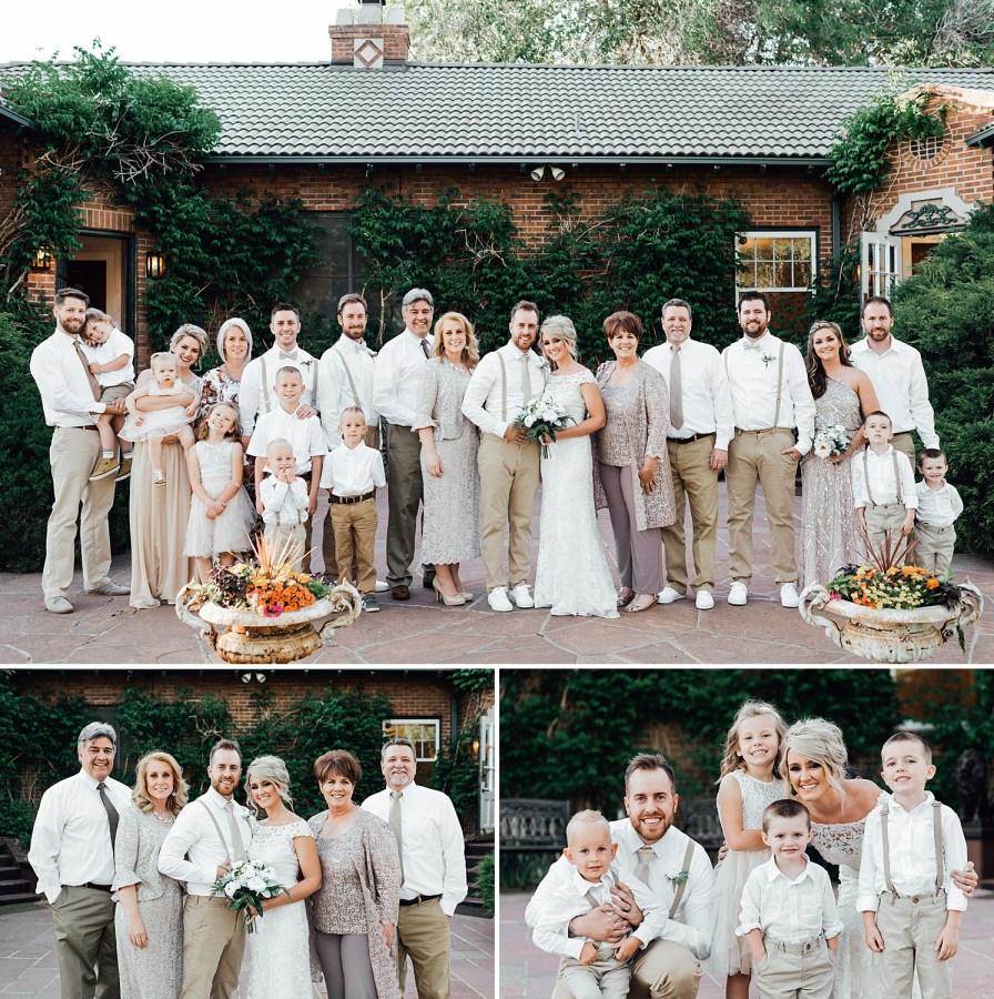 Family photos, wedding family photo