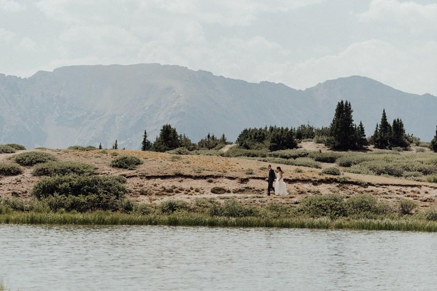 Pass Lake wedding photos