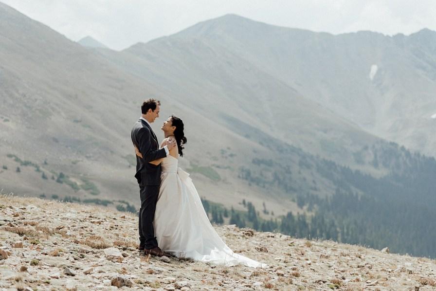 Loveland Pass elopement