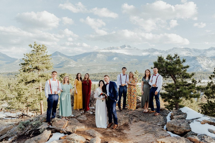 eloping with your best friends at RMNP