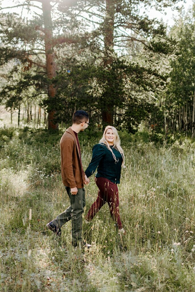 Lily Lake engagement session