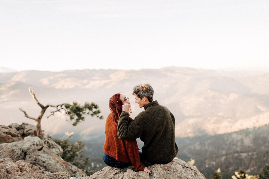 lost gulch engagement photos