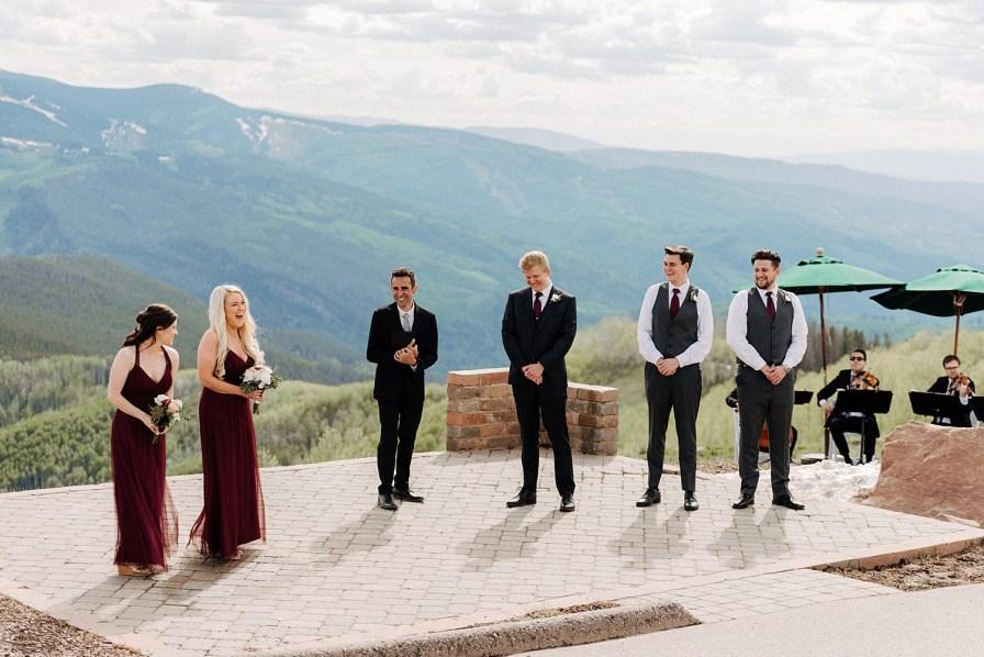 wedding in vail
