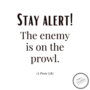 Stay alert! The enemy is on the prowl.