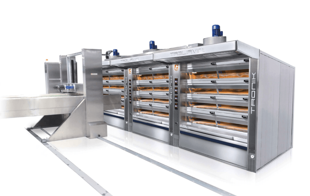 Tagliavini | Robotic Industrial Oven Loader | Bakery Equipment