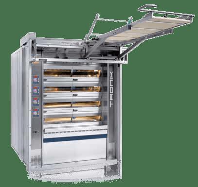 Tagliavini | Tronik Electric Commercial Deck Oven | Solar, Energy Saving Bakery Equipment
