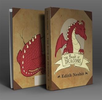 Book of Dragons cover mock-up Erika Schnatz