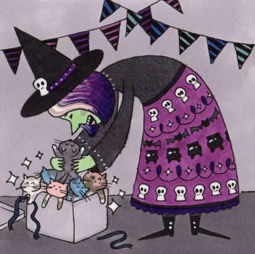 Inktober 26: Witches Brew