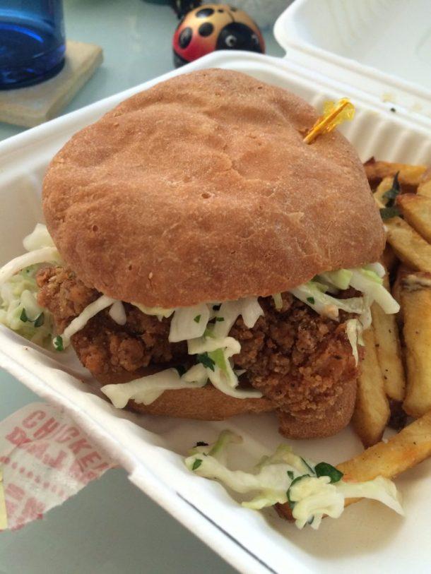 Proposition Chicken's gluten-free chicken sandwich