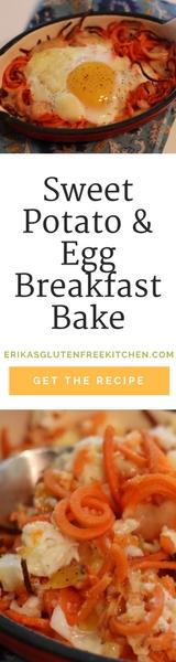 Sweet Potato and Egg Breakfast Bake