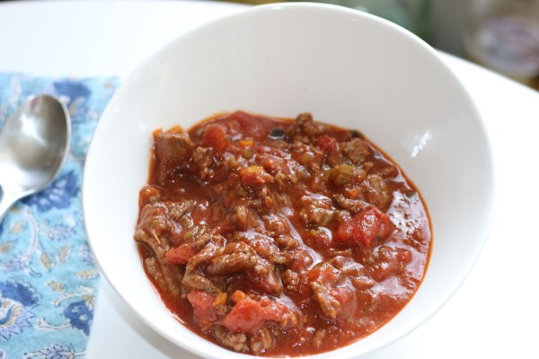 Low FODMAP Bean Free Chili | erikasglutenfreekitchen.com