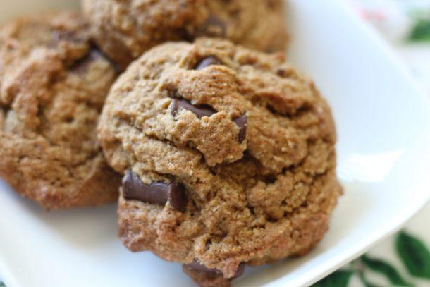 Paleo Chocolate Chip Cookies | Erika's Gluten-free Kitchen www.erikasglutenfreekitchen.com