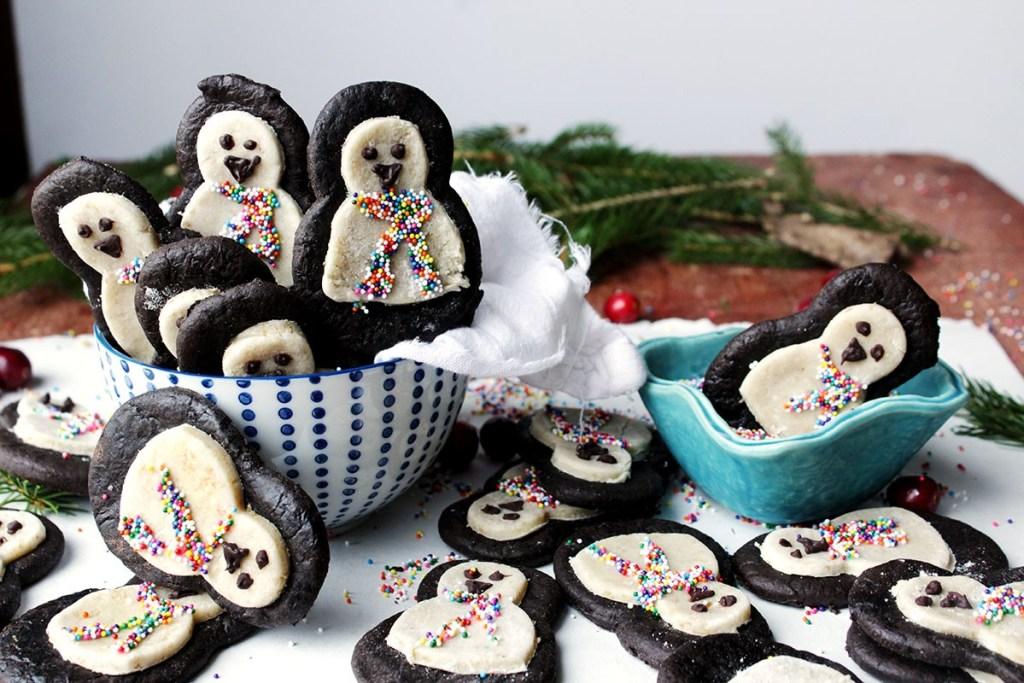 gluten free penguin brookies
