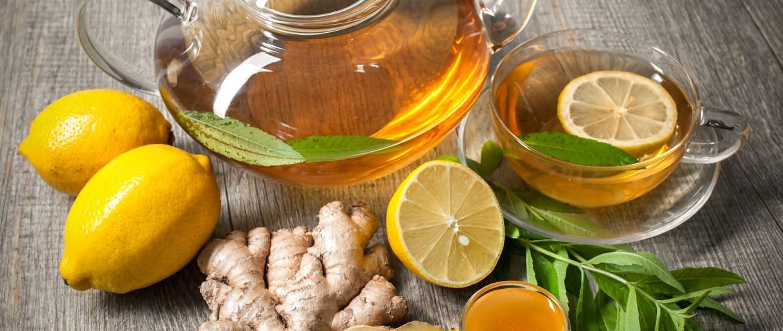Jengibre, miel y limón.