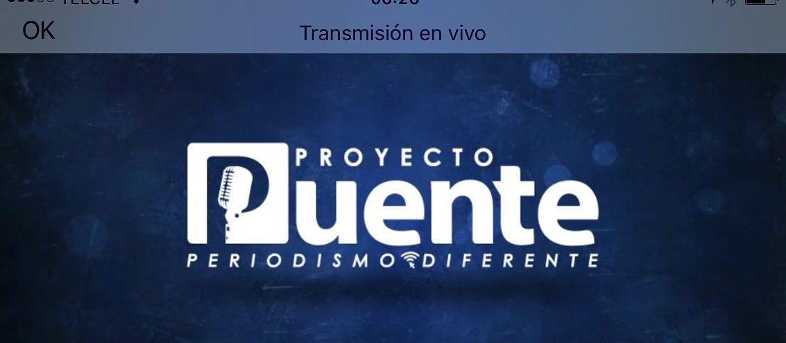 @ProyectoPuente de regreso al aire. #ConectaProyectoPuente