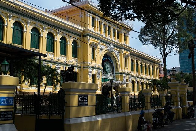 Ho Chi Minh City - Saigon Post Office PIC: SB