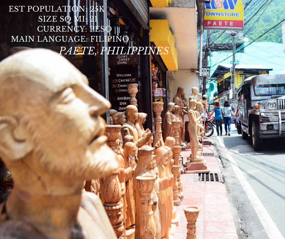 Paete, Philippines: The Carving Capital of the Philippines