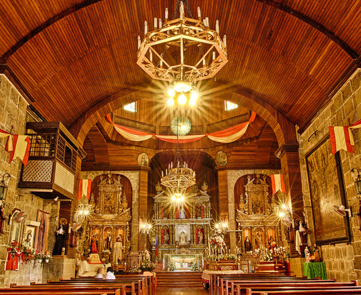 Paete - Santiago Apostol Parish Church PIC: CB